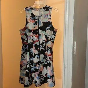 Bar III | Sleeveless Printed Fit & Flare Dress